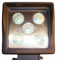 LED WORKLAMP <BR>(SQUARE) <BR>5 x 3w LED <BR>10V - 30V  <BR>&quot;BEST SELLER&quot;<BR> ALT/LEDV78